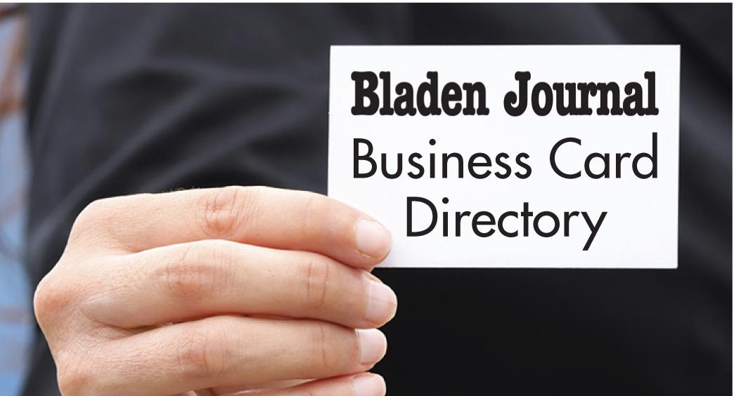 Business Card Directory | Bladen Journal