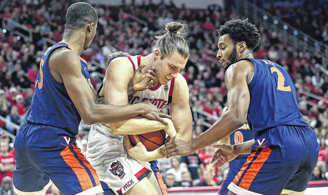 Virginia hangs on to beat NC State in overtime